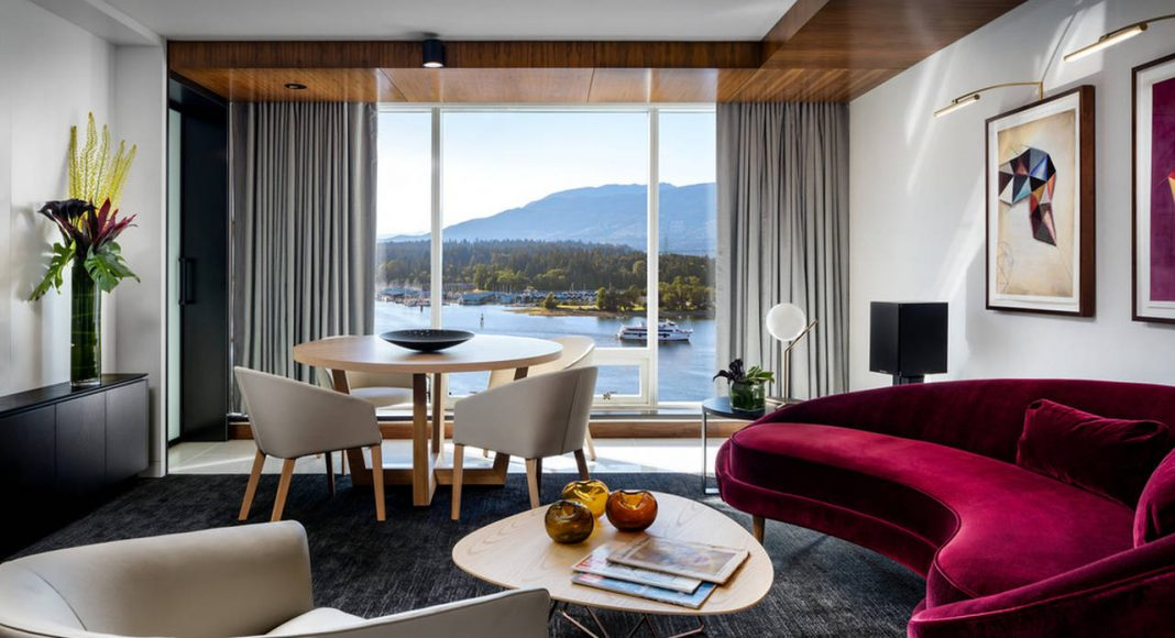 Fairmont Pacific Rim - Owner's Suite Living Room : Photo credit © Fairmont Pacific Rim