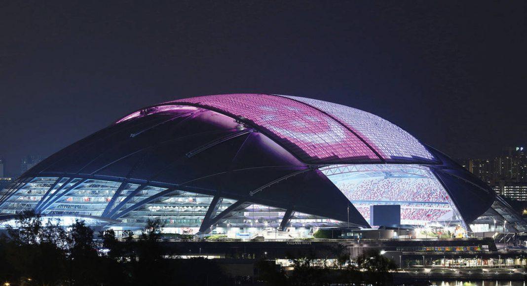 Singapore National Stadium : Photo credit © Arup Associates