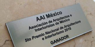 5° Premio Nacional de Arquitectura e Interiorismo AAI México : Fotografía © AAI México