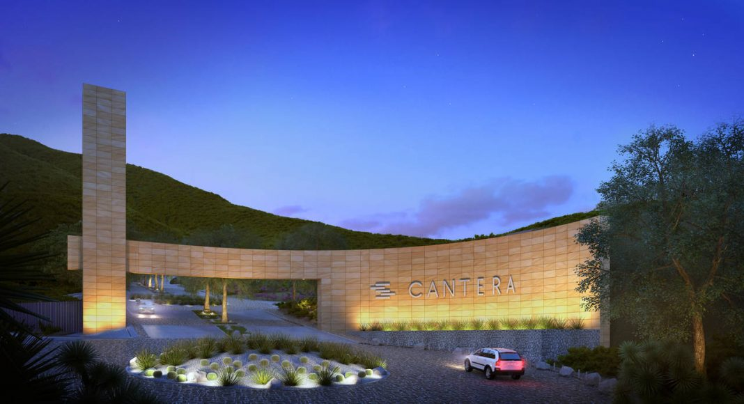 Vista del Acceso al Proyecto CANTERA : Render © cortesía de Carza