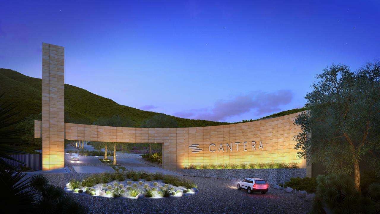 Vista del Acceso al Proyecto CANTERA : Render cortesía de © Carza
