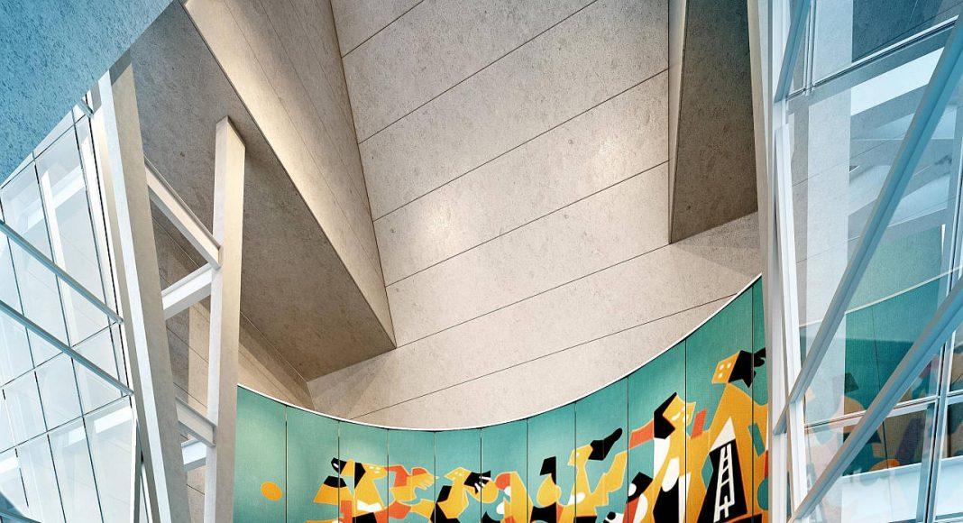 Vista Interior del Vestíbulo de la Torre Manacar : Render © Pulso Inmobiliario