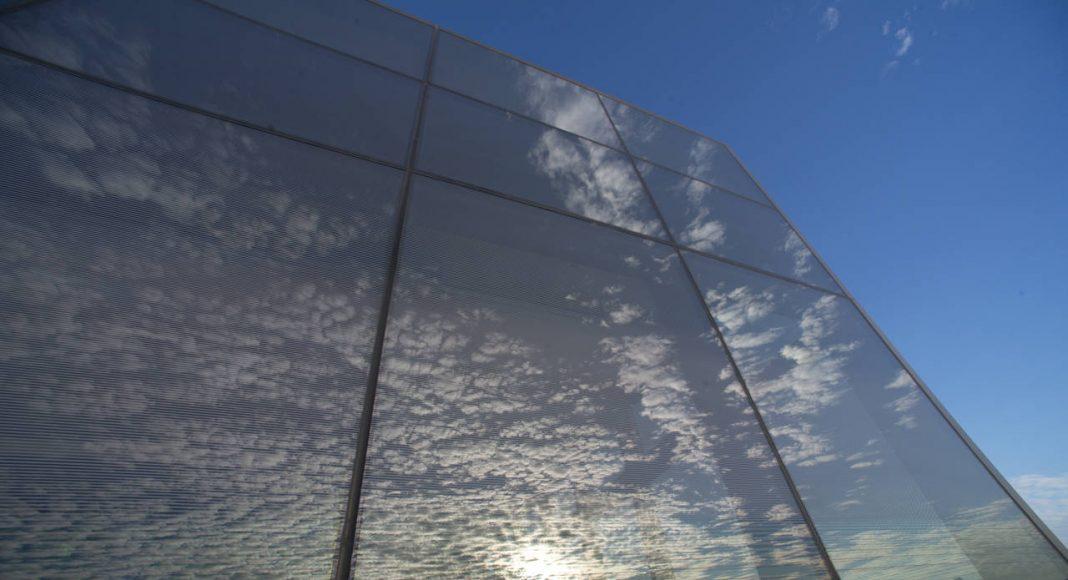 Exterior de la Galería Fisher Bay Observatory Gallery totalmente de cristal del Exploratorium : Image by Amy Snyder © Exploratorium, www.exploratorium.edu