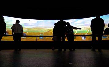 Skyspace 360° Landscape Experience by Stimulant : Photo © Stimulant, courtesy of NVIDIA Pro Graphics Blog