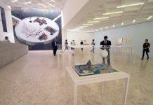 Exposición de Isamu Noguchi en el Museo Tamayo Arte Contemporáneo : Fotografía FSM, cortesía de la © Secretaría de Cultura de México