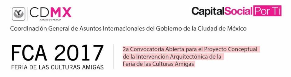 Convocatoria abierta para la Feria de las Culturas Amigas 2017 : Fotografía © Gobierno de la Ciudad de México y © LIGA