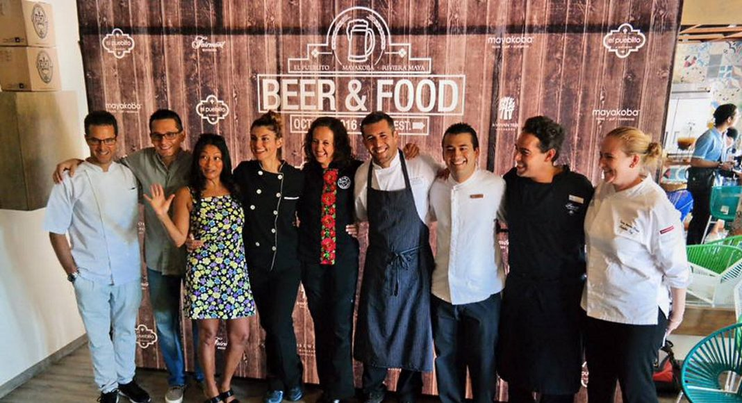 Chef y Cerveceros Organizadores del Evento Riviera Maya Beer & Street Food Fest : Fotografía © Mayakoba