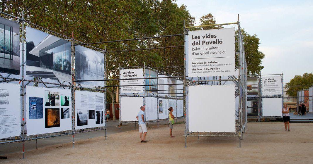 """Exposición """"Las vidas del Pabellón. Relato intermitente de un espacio esencial"""" : Crédito de fotografía © Pepo Segura"""