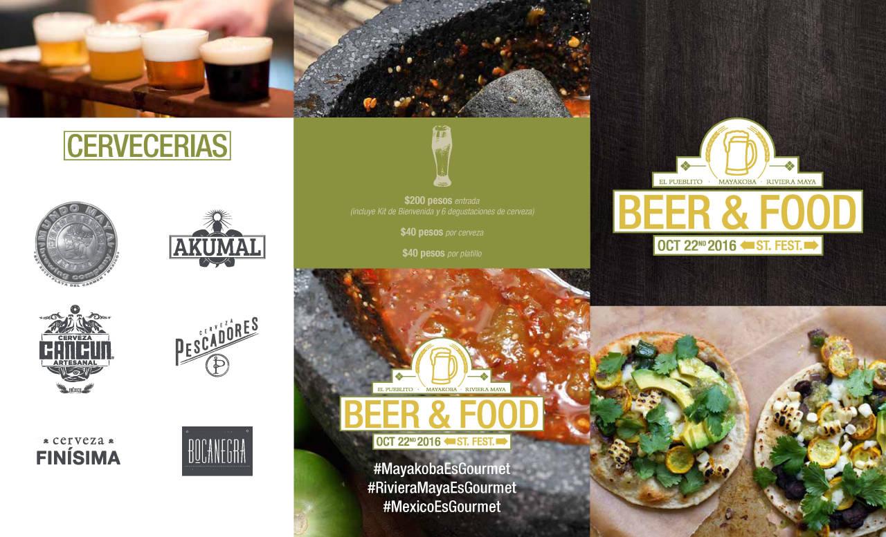 Evento Riviera Maya Beer & Street Food Fest : Fotografía © Mayakoba