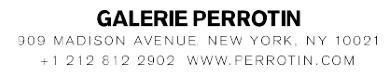 Logo © Galerie Perrotin