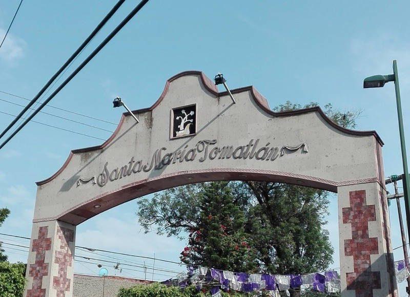 Arco de Santa María Tomatlán : Foto © INAH