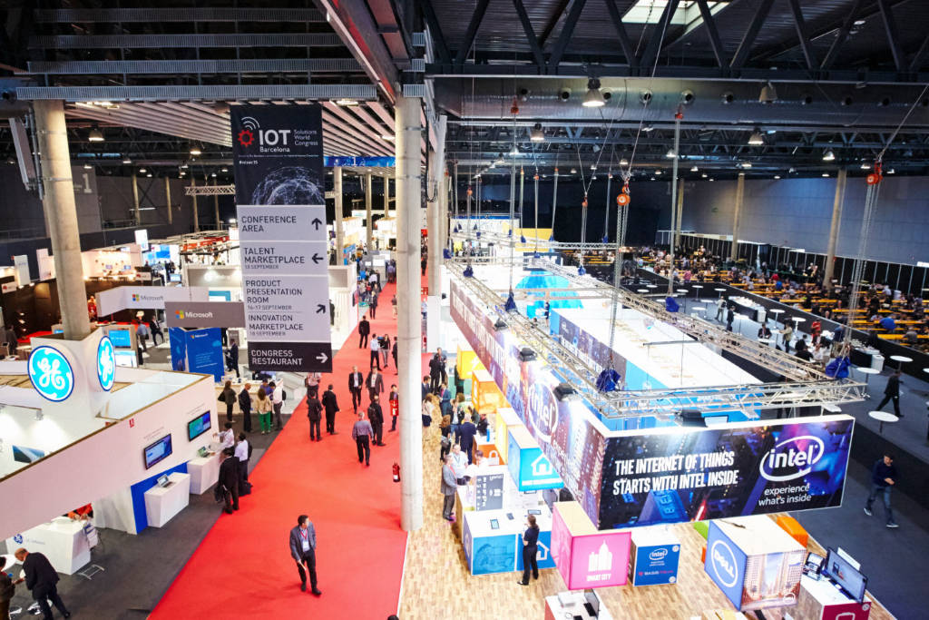 IoT Solutions World Congress 2016 : Fotografía © Fira de Barcelona