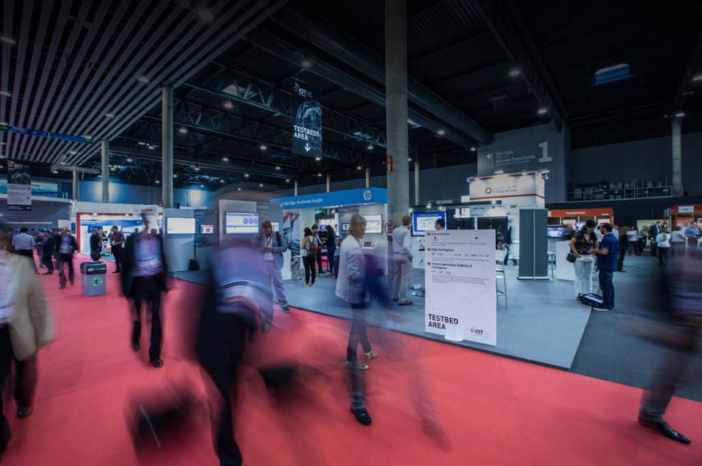 IoT Solutions World Congress Barcelona 2016 : Photo credit courtesy of © Fira de Barcelona