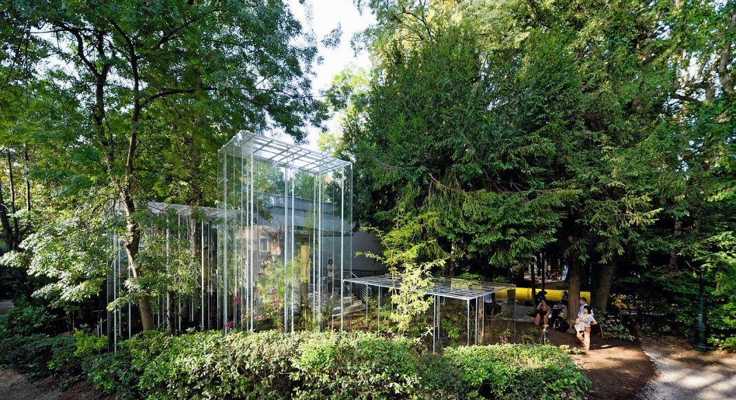 Junya Ishigami, Greenhouses, Japanese Pavilion, Venice Architecture Biennale, Venice, Italy : Copyright © Iwan Baan