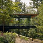 Kengo Kuma, Glass Wood House, New Canaan, Connecticut, USA : Copyright © Kengo Kuma & Associates for Glass Wood House