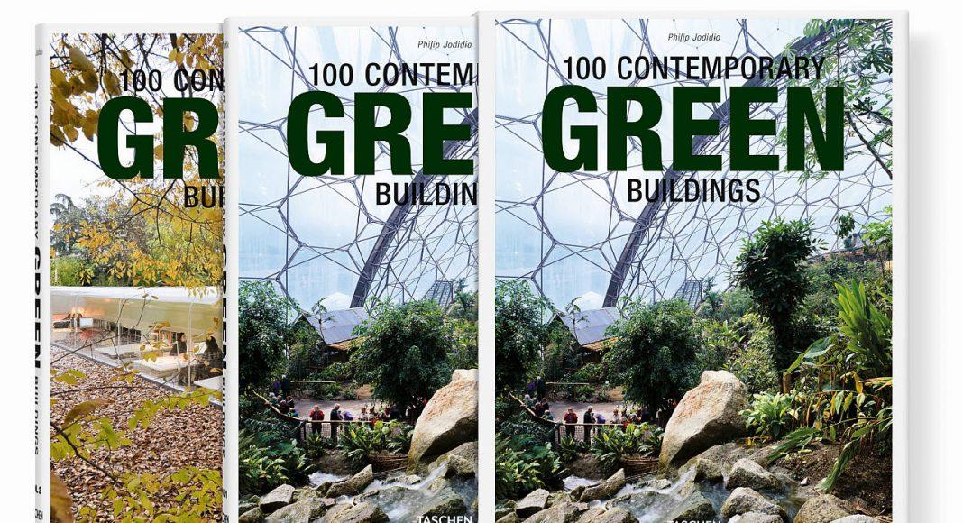 100 edificios sostenibles contemporáneos, del autor Philip Jodidio - Tapa dura, estuche con 2 vols., 24 x 30.5 cm, 696 páginas : Cover © TASCHEN GmbH