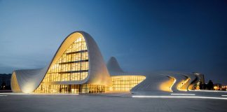 Heydar Aliyev Cultural Center, Baku Azerbaijan : Copyright © Farid Khayrulin/TASCHEN