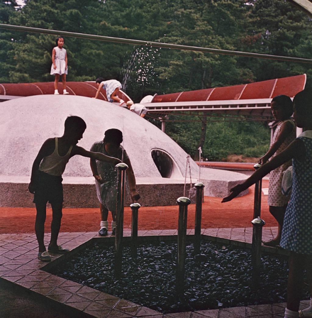 Detalle de Kodomo No Kuni, Yokohama, Japón, 1965-1966 : Fotografía © The Isamu Noguchi Foundation and Garden Museum, Nueva York