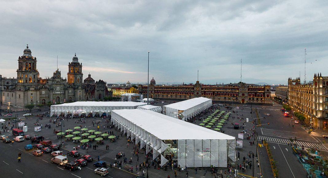 Pabellón Feria de las Culturas Amigas 2015 por MMX : Fotografía cortesía de © LIGA, Espacio para Arquitectura, DF