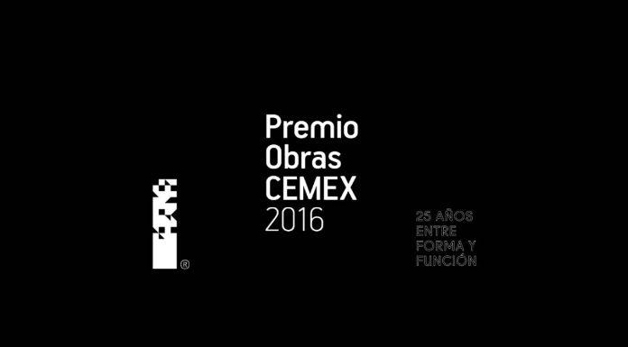 Finalistas Nacionales Premio Obras Cemex 2016 : Cartel © Cemex México