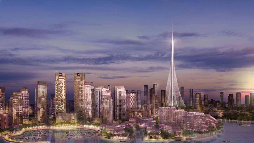 RMJM trabajará en la última torre icónica de Emaar Properties en Dubai : Render © RMJM
