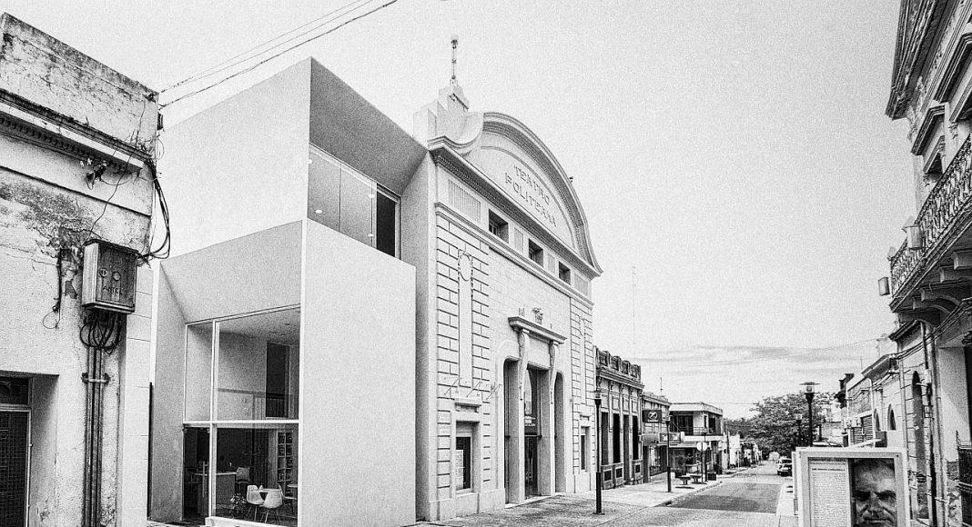Teatro Politeama. Estudio Lorieto. Pintos.Santellán arquitectos. Victor Lorieto, Conrado Pintos y Luis Santellán. Uruguay : Photo © Pablo Pintos Diego Villar