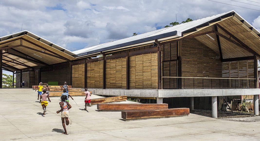 Parque educativo Saberes Ancestrales. Farhid Maya Ramírez, Lucas Serna Rodas, Diana Herrera Duque, Mauricio Valencia Correa. Colombia : Photo © Alejandro Arango