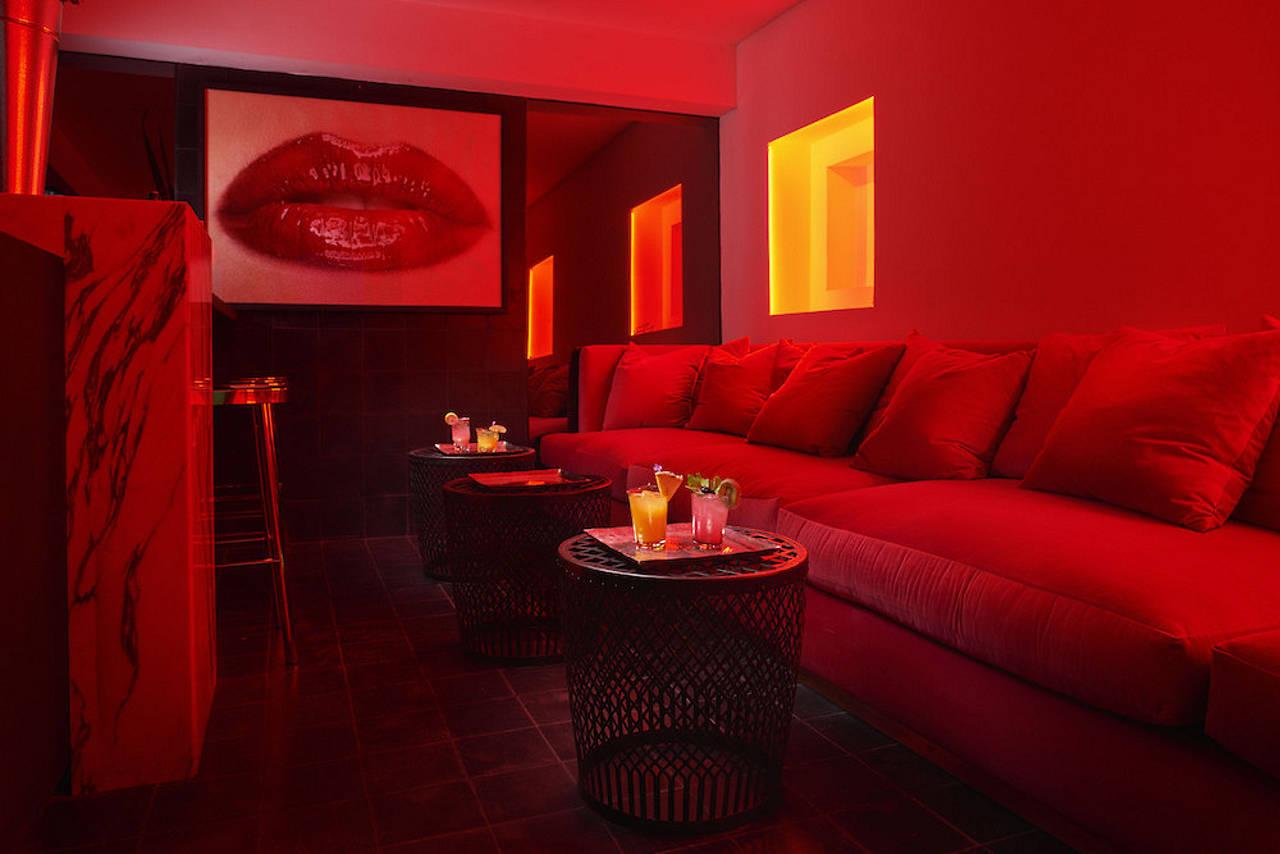 18 Cocktail Room en Dôce 18 Concept House - The Bar : Fotografía © 18 Cocktail Room