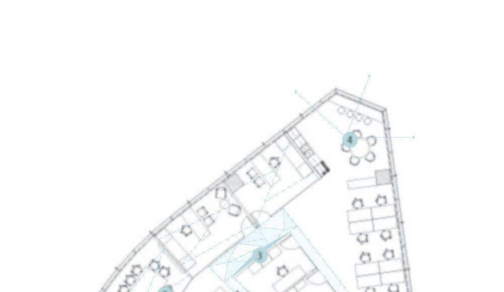 Edgar Office floor plan : Drawing © DIALOG