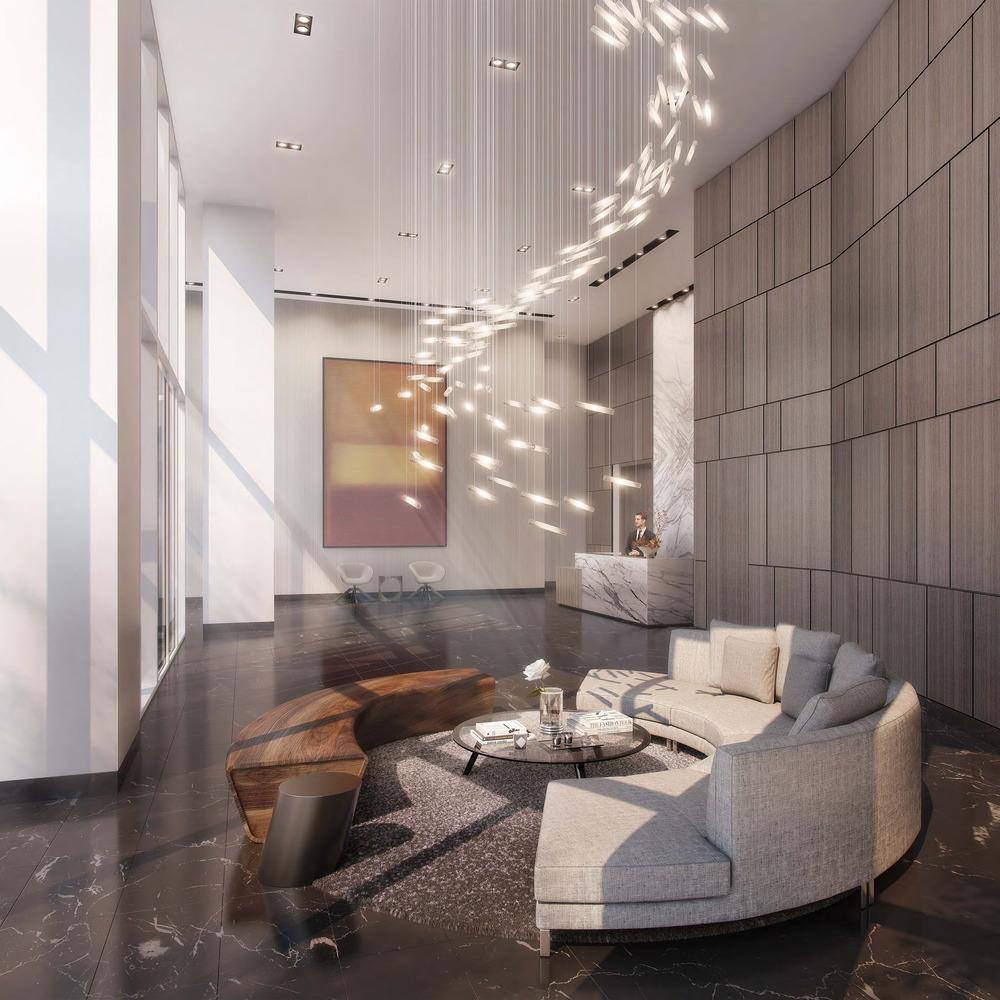 LUMINA Condominium Development Tower D Lobby : Photo credit © Steelblue