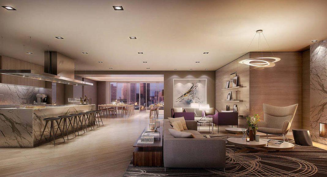 LUMINA Condominium Development Party Room/Private Dining : Photo credit © Steelblue