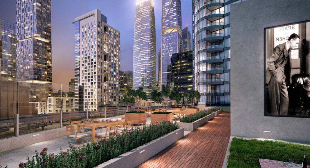 LUMINA Condominium Development Terrace/Roof Top Movie Lawn : Photo credit © Steelblue