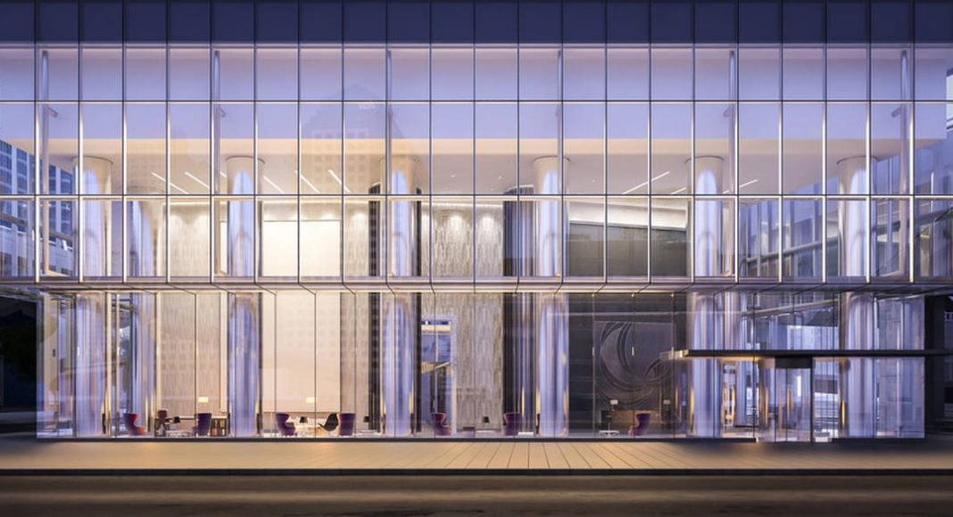 Ten York Exterior : Photo credit © Norm Li Architectural Graphics