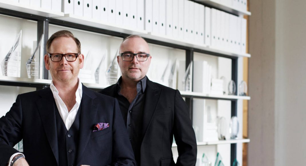 II BY IV DESIGN Partners, Dan Menchions (right) & Keith Rushbrook (left) : Photo credit © Javier Lovera Yepes