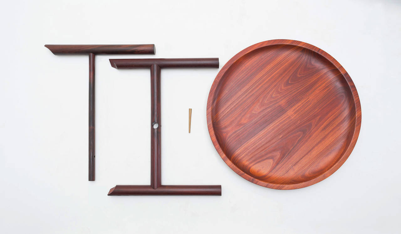 Mesa Ocum, winner of Inédito : Photo credit © ITZ Mayan Wood Furniture