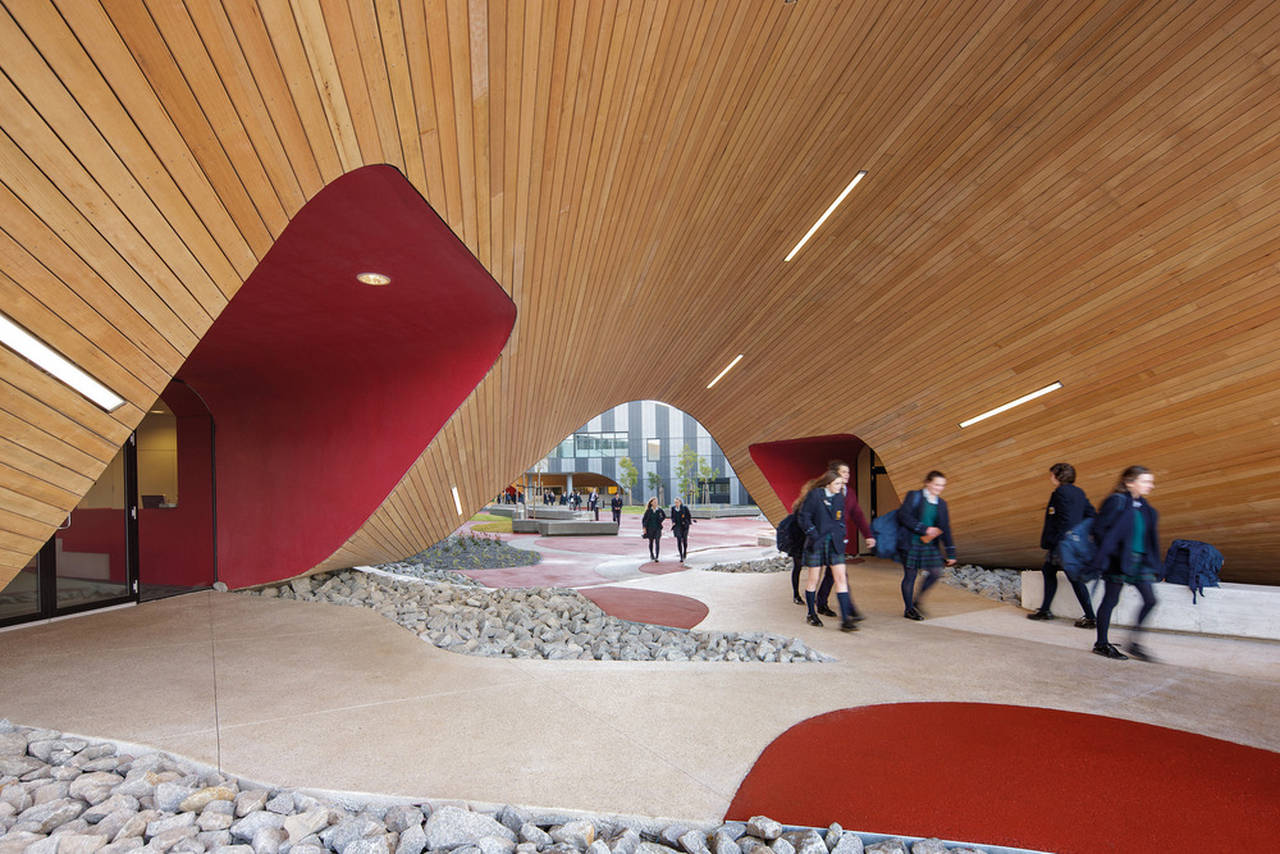 McBride Charles Ryan – The Infinity Centre, Penleigh and Essendon Grammar School : Photo credit © John Gollings