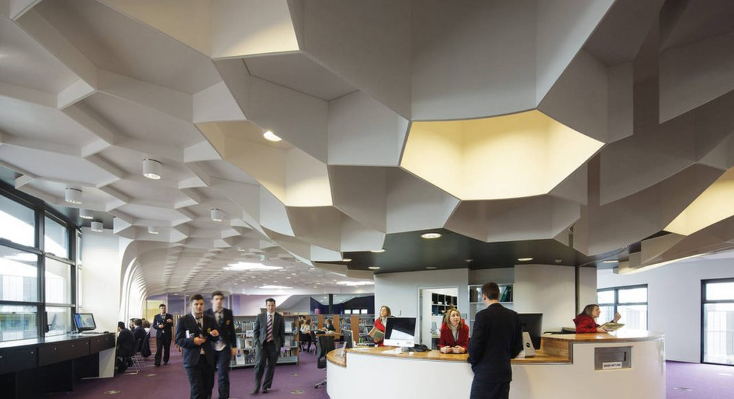 McBride Charles Ryan – The Infinity Centre, Penleigh and Essendon Grammar School: Library : Photo credit © John Gollings