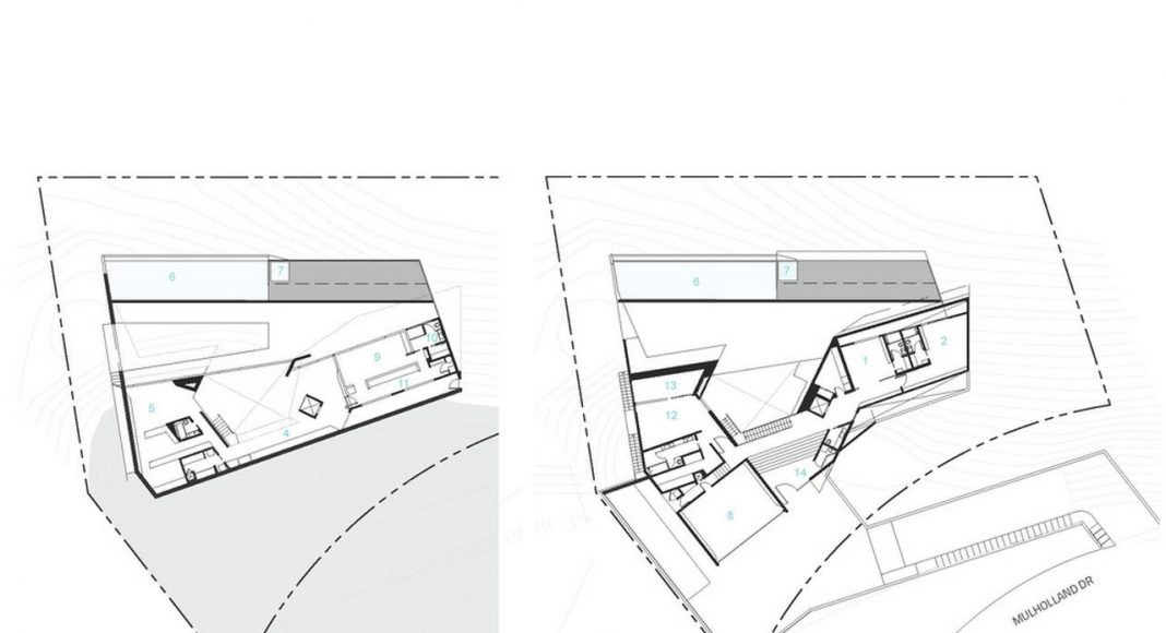 MU77 - FLOOR PLAN DIAGRAMS BY ARSHIA ARCHITECTS : Diagram credit © ARSHIA MAHMOODI