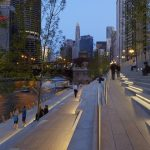 Chicago Riverwalk by Ross Barney Architects : Photo © Kate Joyce Studios