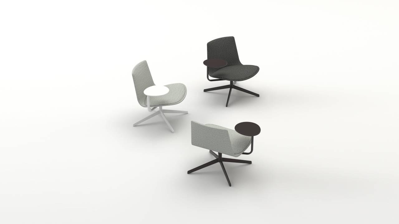 Lottus Lounge y Lottus oficina con tablilla de ENEA : Fotografía © ENEA
