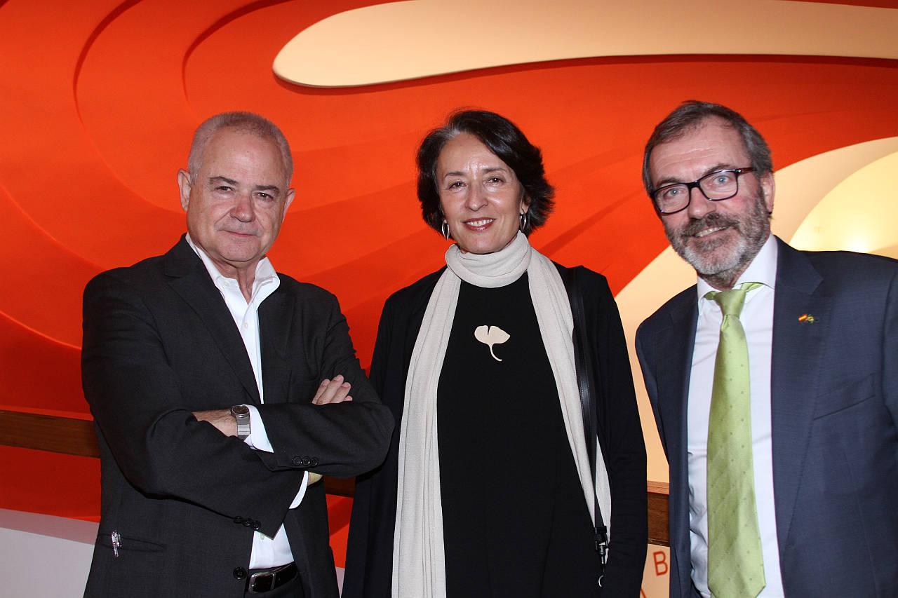 Ignacio Pedrosa , Angela Garcia de Paredes e Ricardo Martinez Vazquez : Fogografía © Denise Andrade