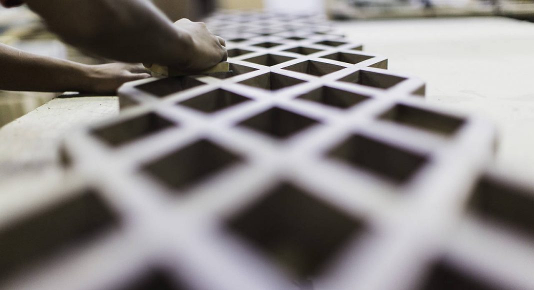 Trabajo Artesanal en Madera de la propuesta de Ezequiel Farca + Crsitina Grappin en la DWM 2016 : Fotografía © Ezequiel Farca + Crsitina Grappin