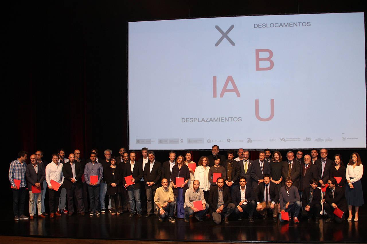 Ceremonia de Premiación X Bienal Iberoamericana de Arquitectura y Urbanismo : Fogografía © Denise Andrade
