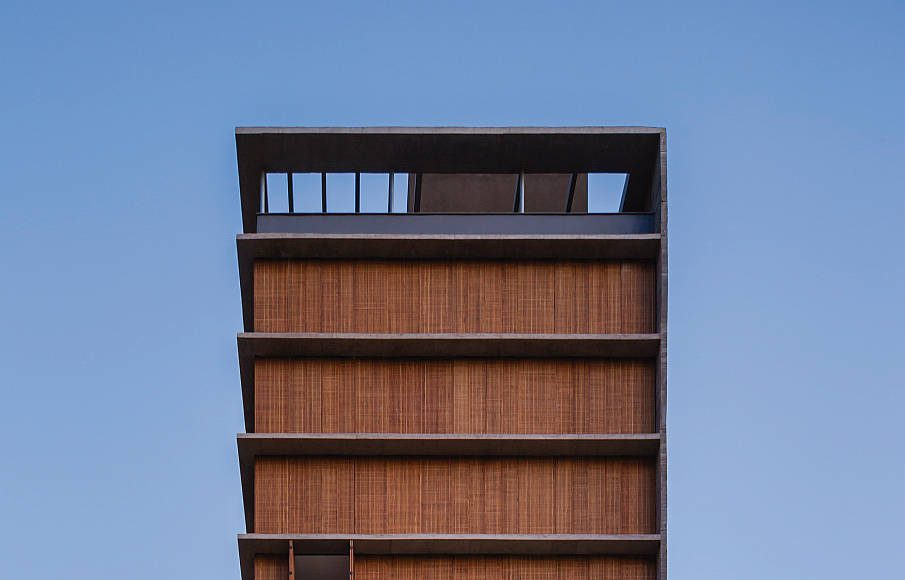 Vertical Itaim. Marcio Kogan, Carolina Castroviejo. Brasil : Photo © Pedro Vannucchi