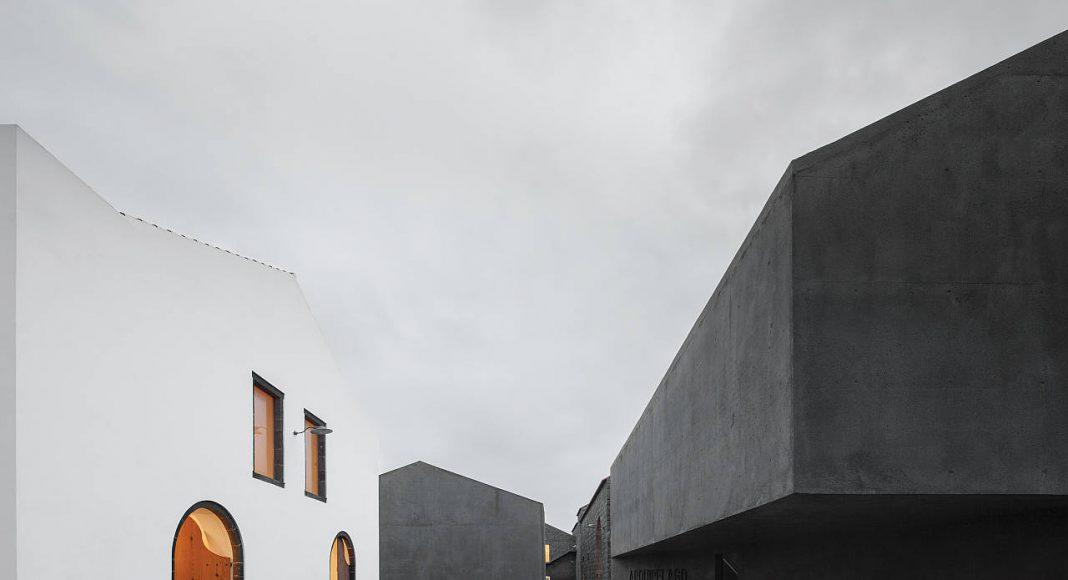 Arquipélago - Centro de Artes Contemporâneas. Francisco Vieira de Campos, Cristina Guedes, João Mendes Ribeiro. Portugal : Photo © José Campos