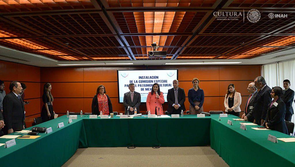 Declaración formal de la Comisión Especial para el Patrimonio Cultural de México : Foto © Héctor Montaño INAH