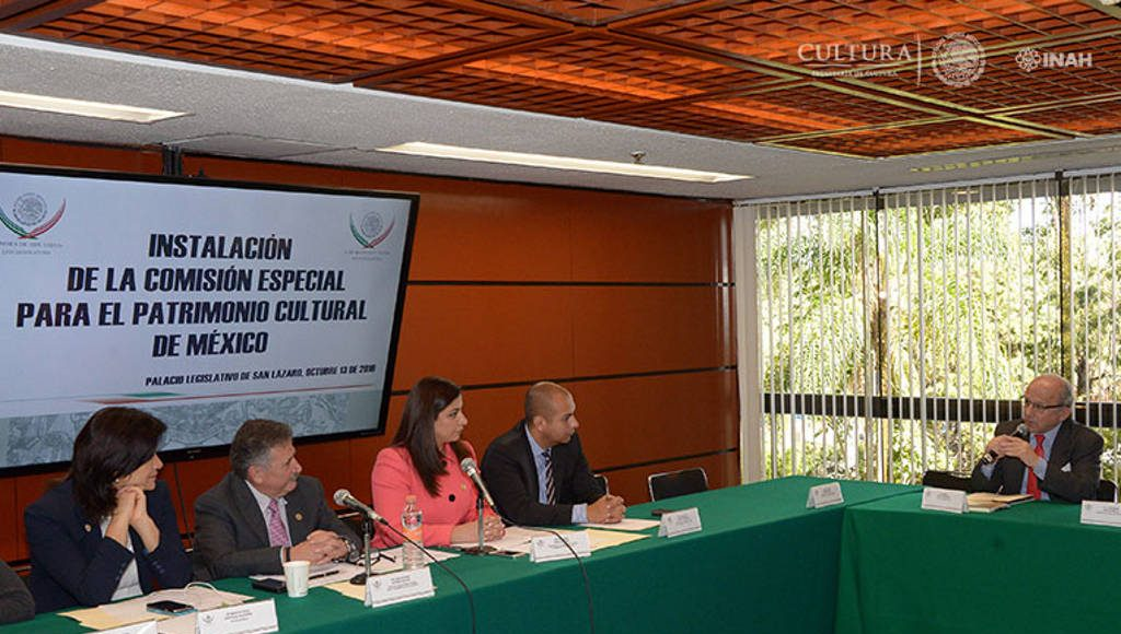 Diego Prieto, reconoció la necesidad que existe para crear agendas comunes entre el Estado, los organismos no gubernamentales y la sociedad en general : Foto © Héctor Montaño INAH