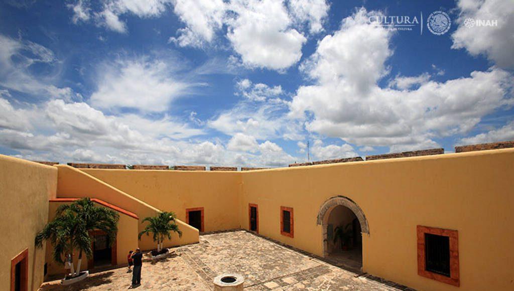 Las fortificaciones han tenido distintos usos con el paso del tiempo : Foto © INAH