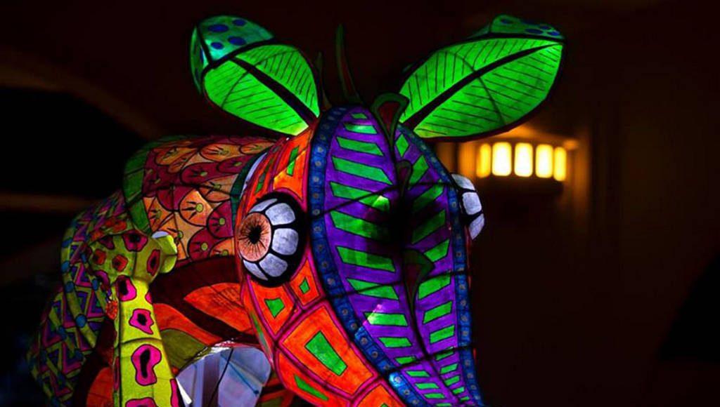 Alebrijes Iluminados en el Museo de Arte Popular (MAP) : Fotografía cortesía de la © Secretaría de Cultura de México