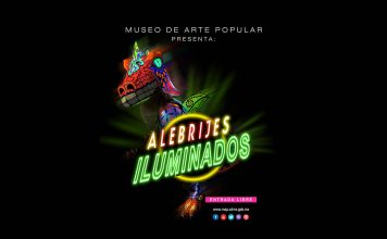 Alebrijes Iluminados en el Museo de Arte Popular (MAP) : Cartel © Museo de Arte Popular (MAP)